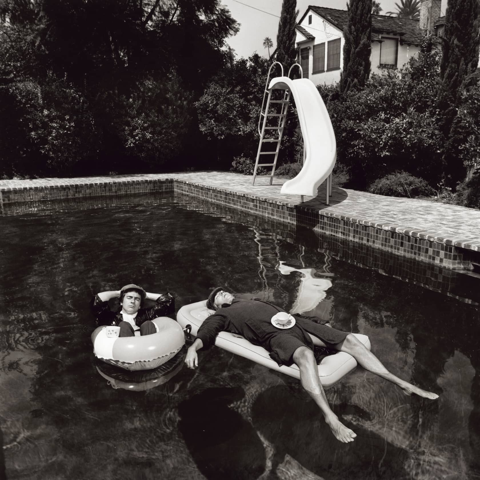 Terry O'Neill Peter Cook and Dudley Moore, Beverly Hills Lifetime Gelatin Silver Print