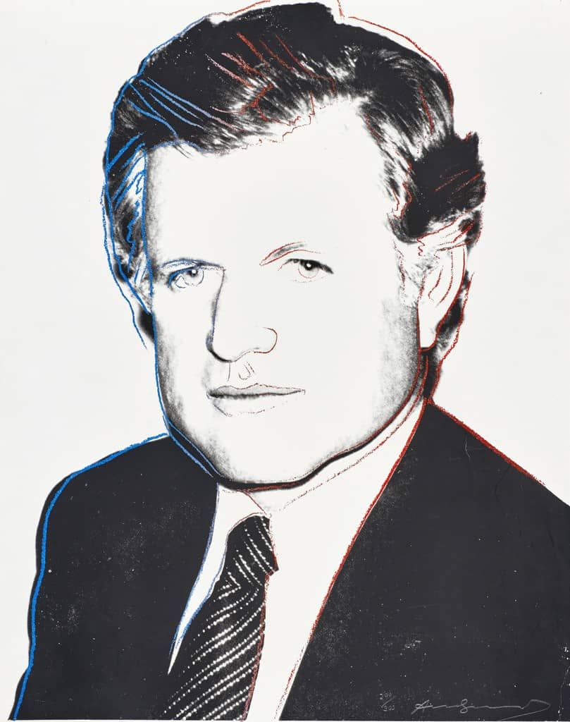 Andy Warhol, Edward Kennedy (240), 1980