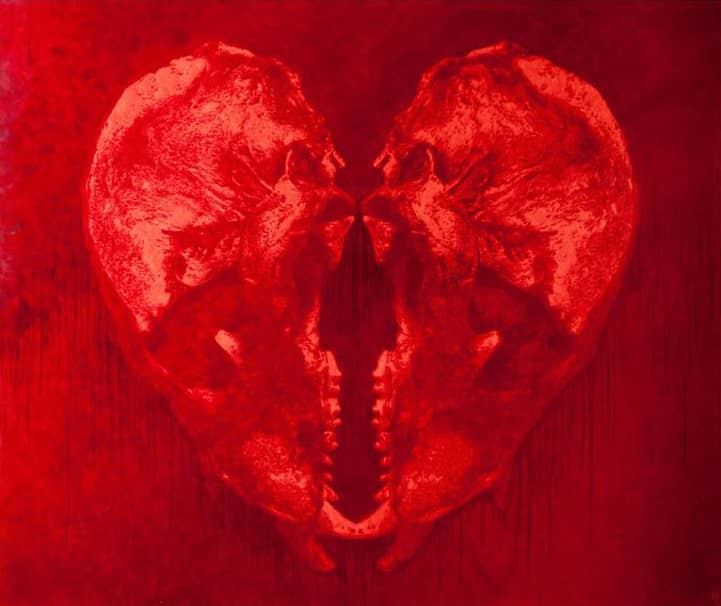 Mark Evans, Red The Ancient Lovers, 2012