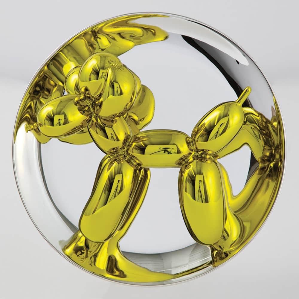 Jeff Koons, Balloon Dog - Yellow, 2015