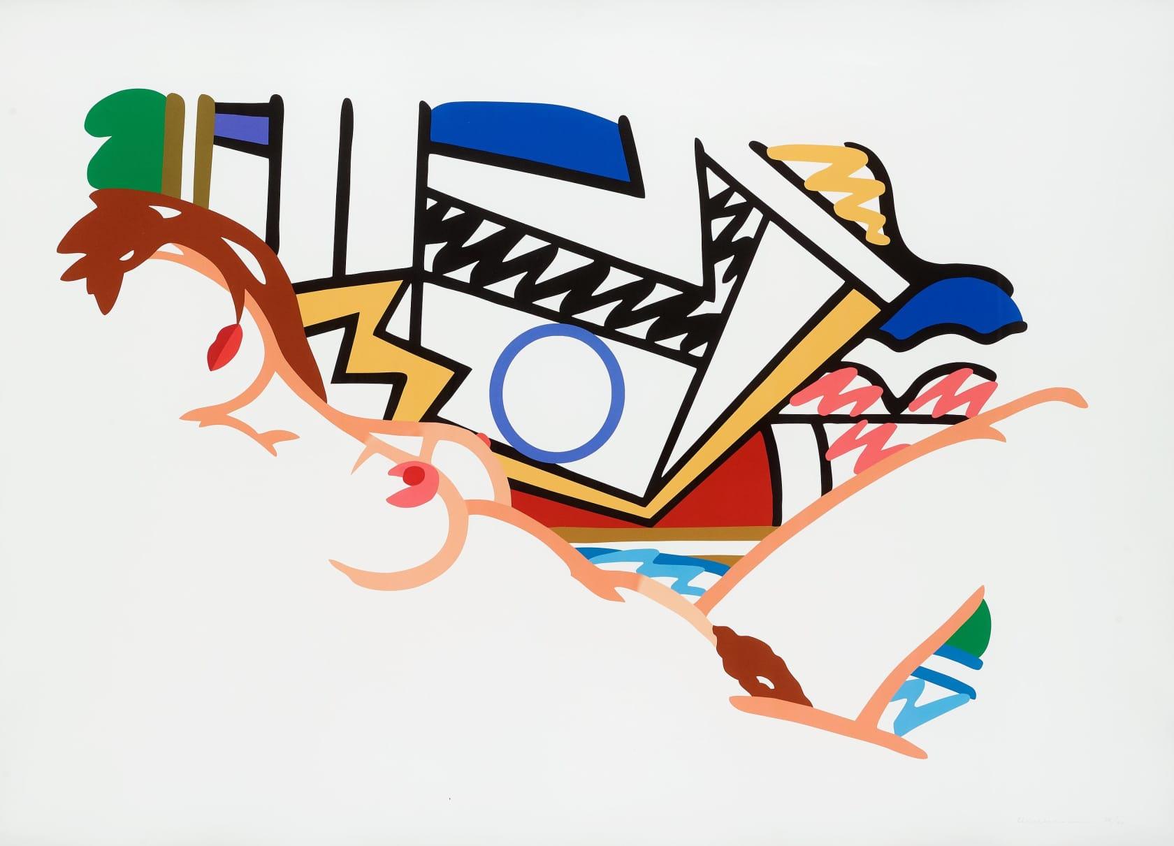 Tom Wesselmann, Monica Nude With Lichtenstein, 2002