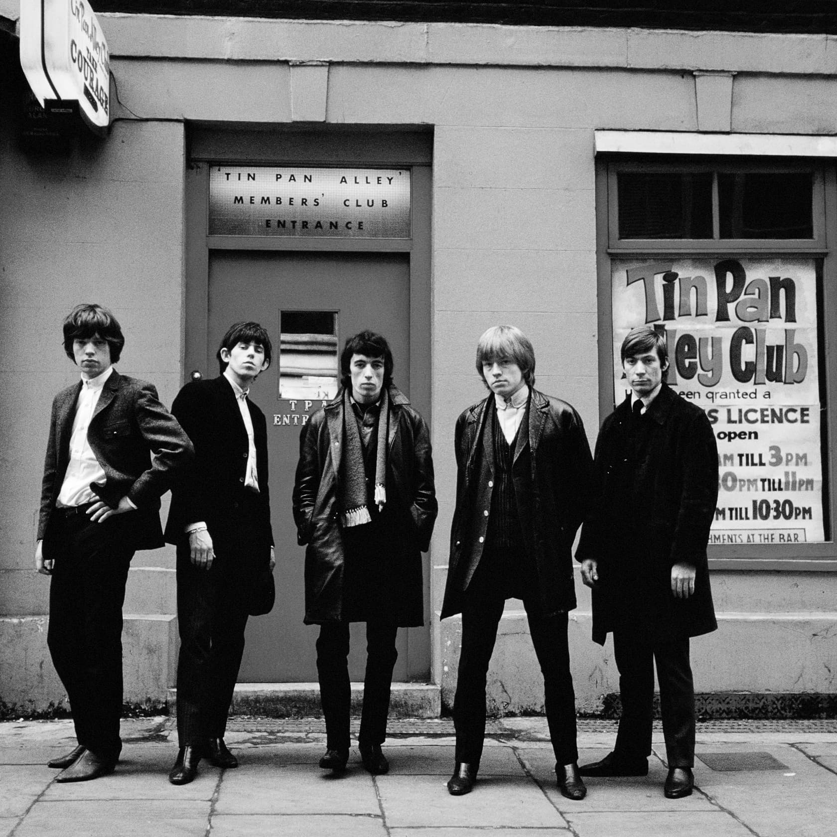 Terry O'Neill, The Early Stones, 1963