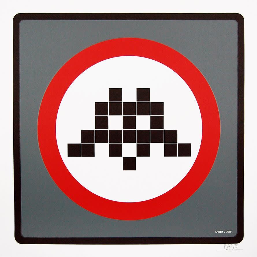 Invader, Warning Invader, 2011