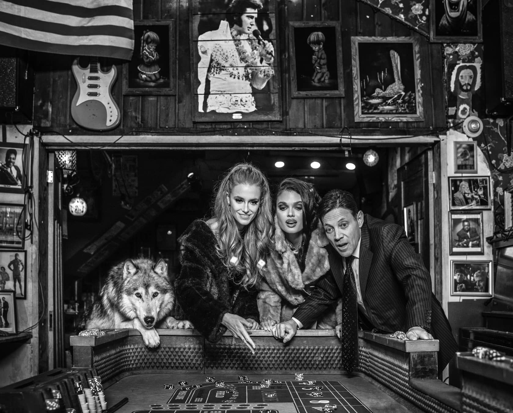 David Yarrow, Roll the Dice, 2020