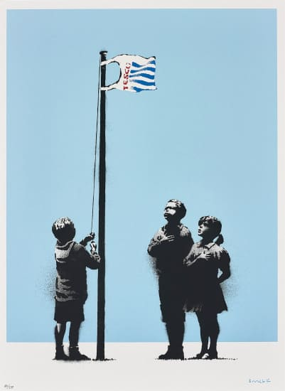Banksy, Very Little Helps (Signed), 2008