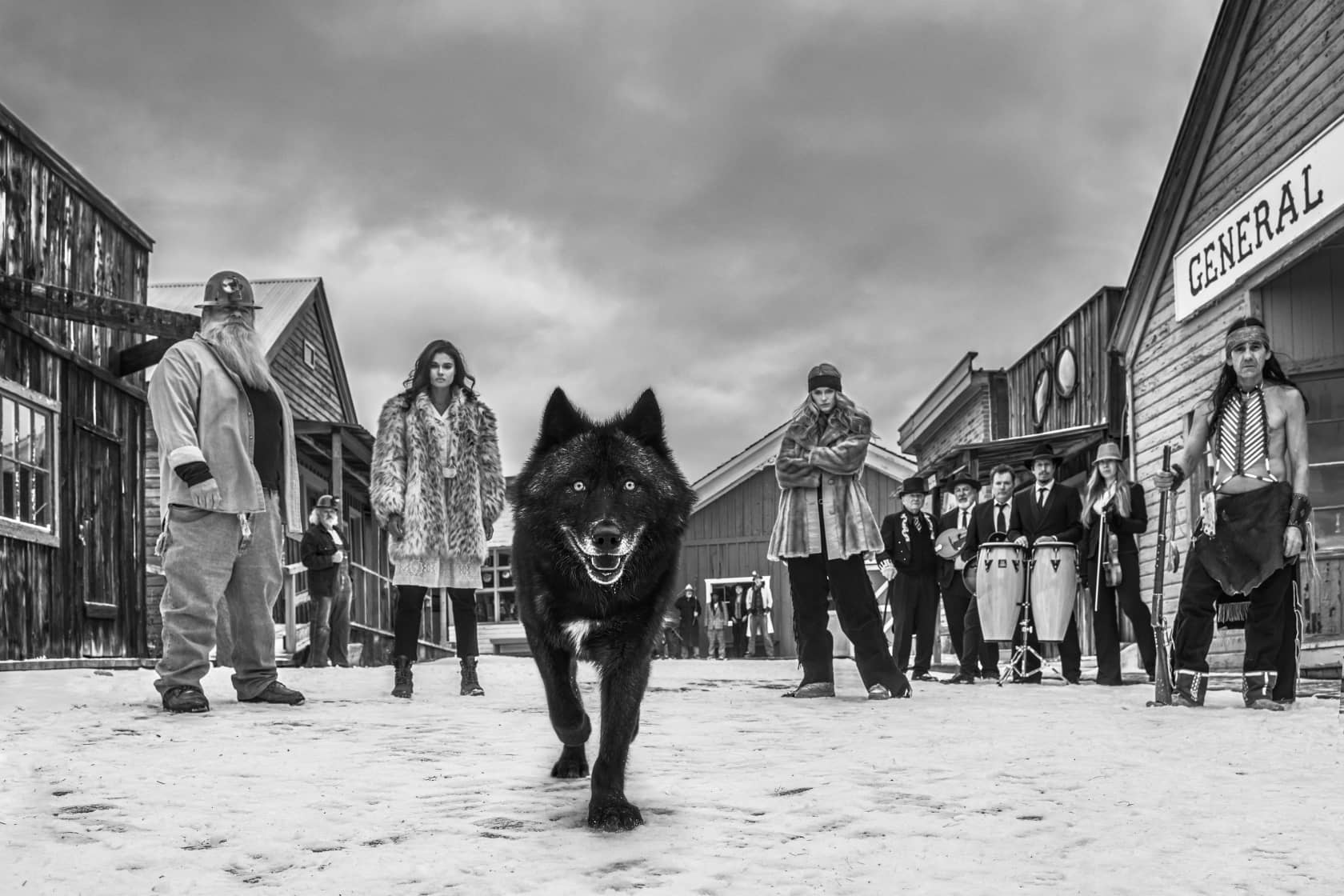 David Yarrow, There Will Be Blood, 2020