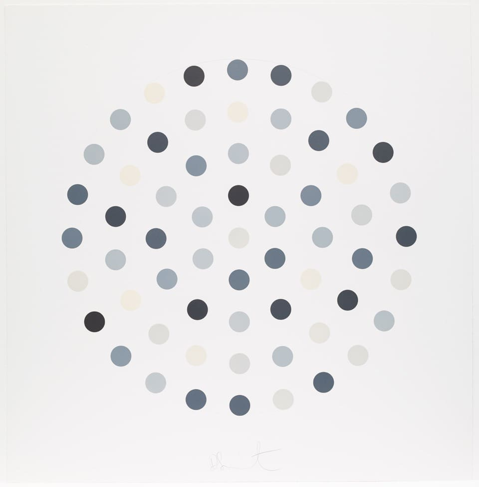 Damien Hirst Cinchonidine Etching and aquatint in colours