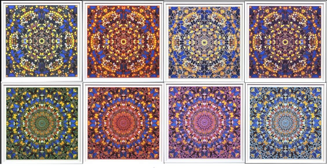 Damien Hirst, Cathedral Collection (Set of 8), 2007