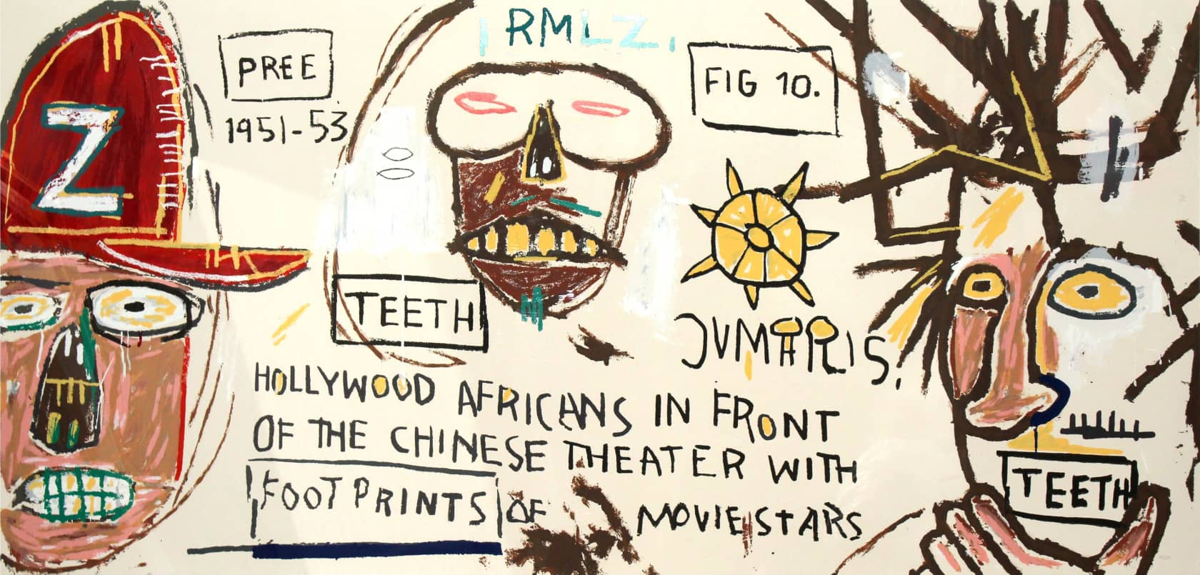 Jean-Michel Basquiat, Hollywood Africans, 1983/2015