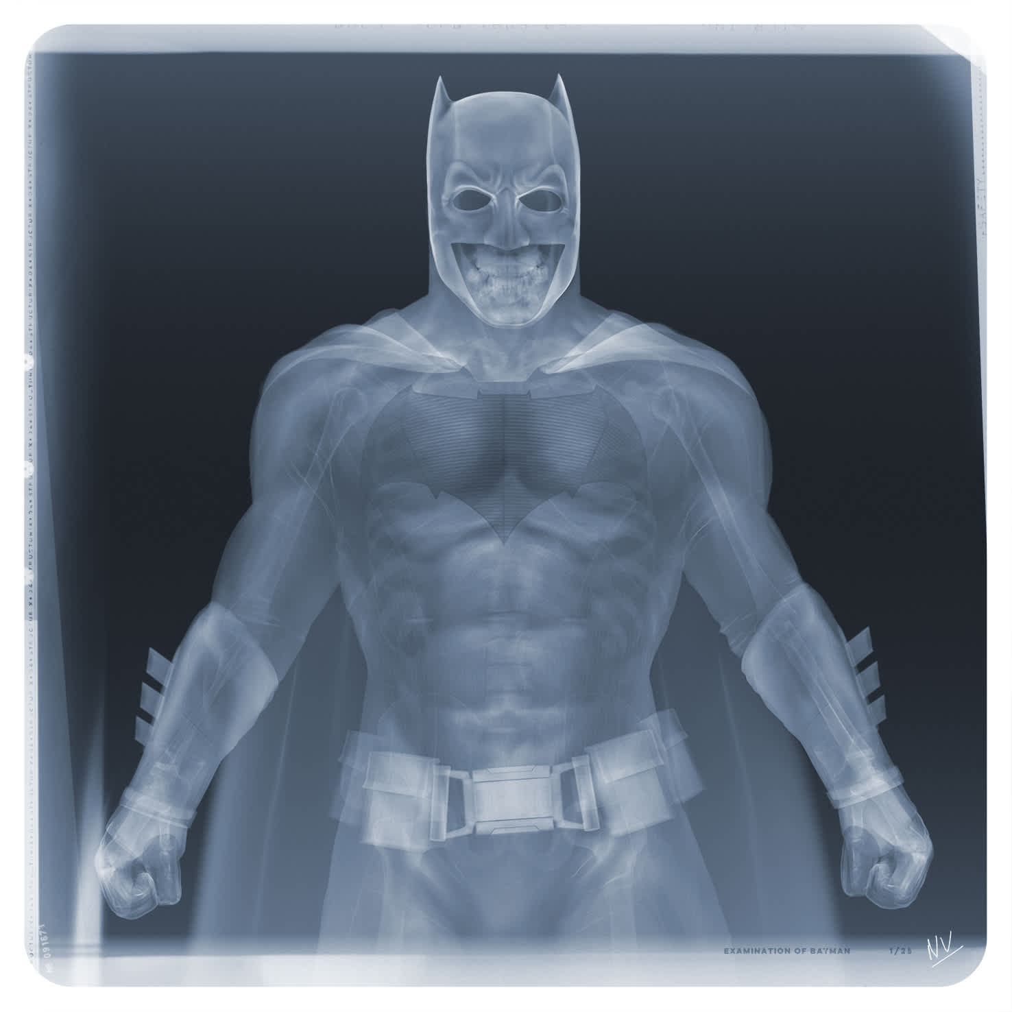 Nick Veasey, Examination of Batman, 2020
