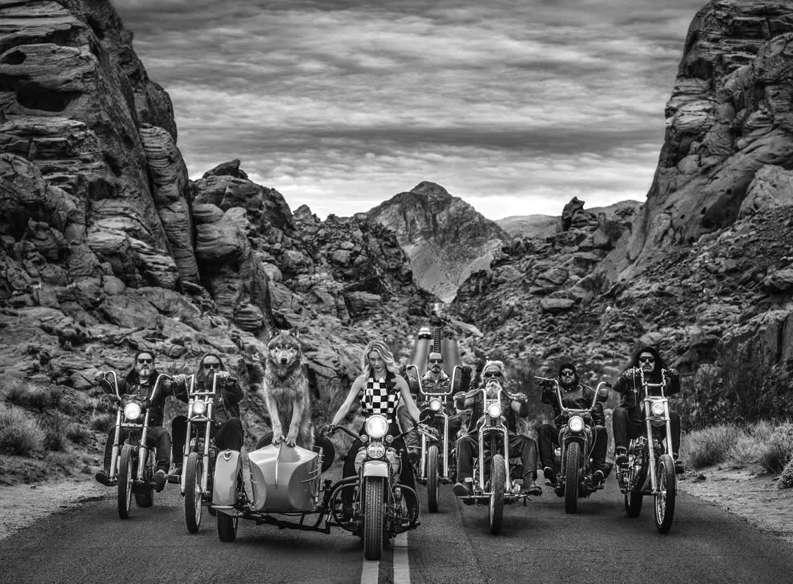 David Yarrow, The Leader of the Pack, 2019