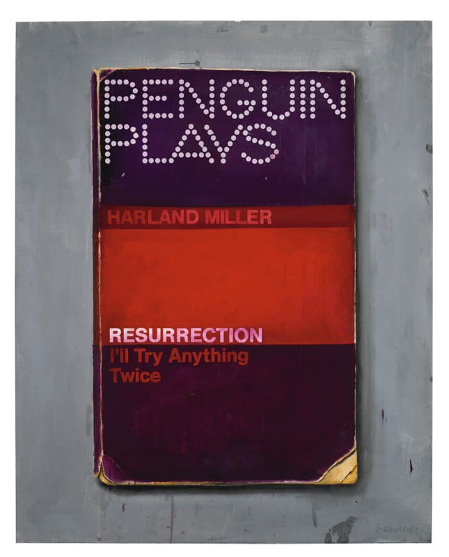 Harland Miller, Resurrection (I'll Try Anything Twice), 2013