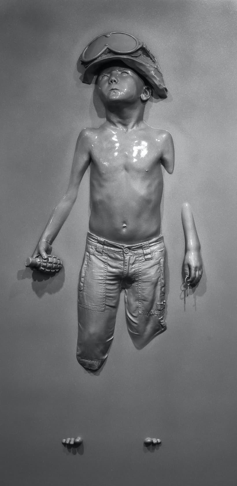 Schoony Panel Boy Soldier (Grey Prismatic) Grey Prismatic