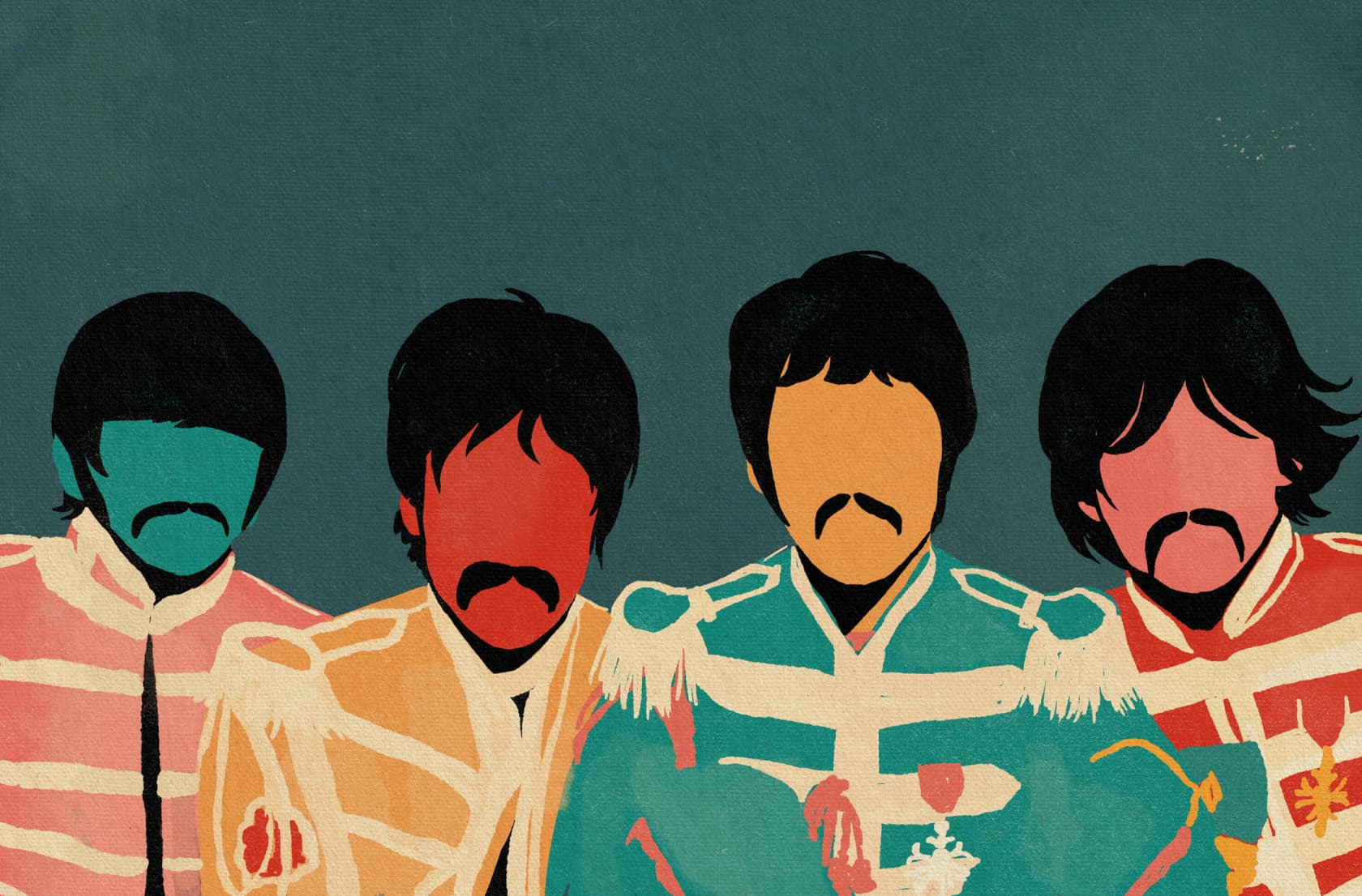 Coco Dávez Sgt. Pepper Acrylic on Canvas