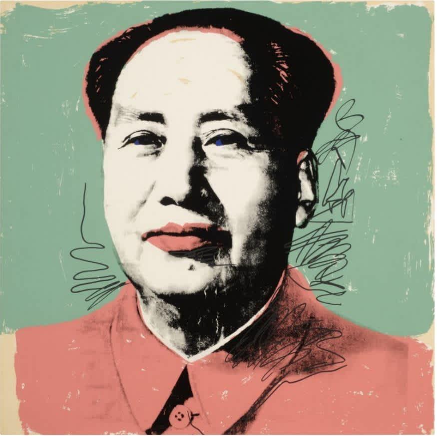 Andy Warhol, Mao F&S II.95, 1972