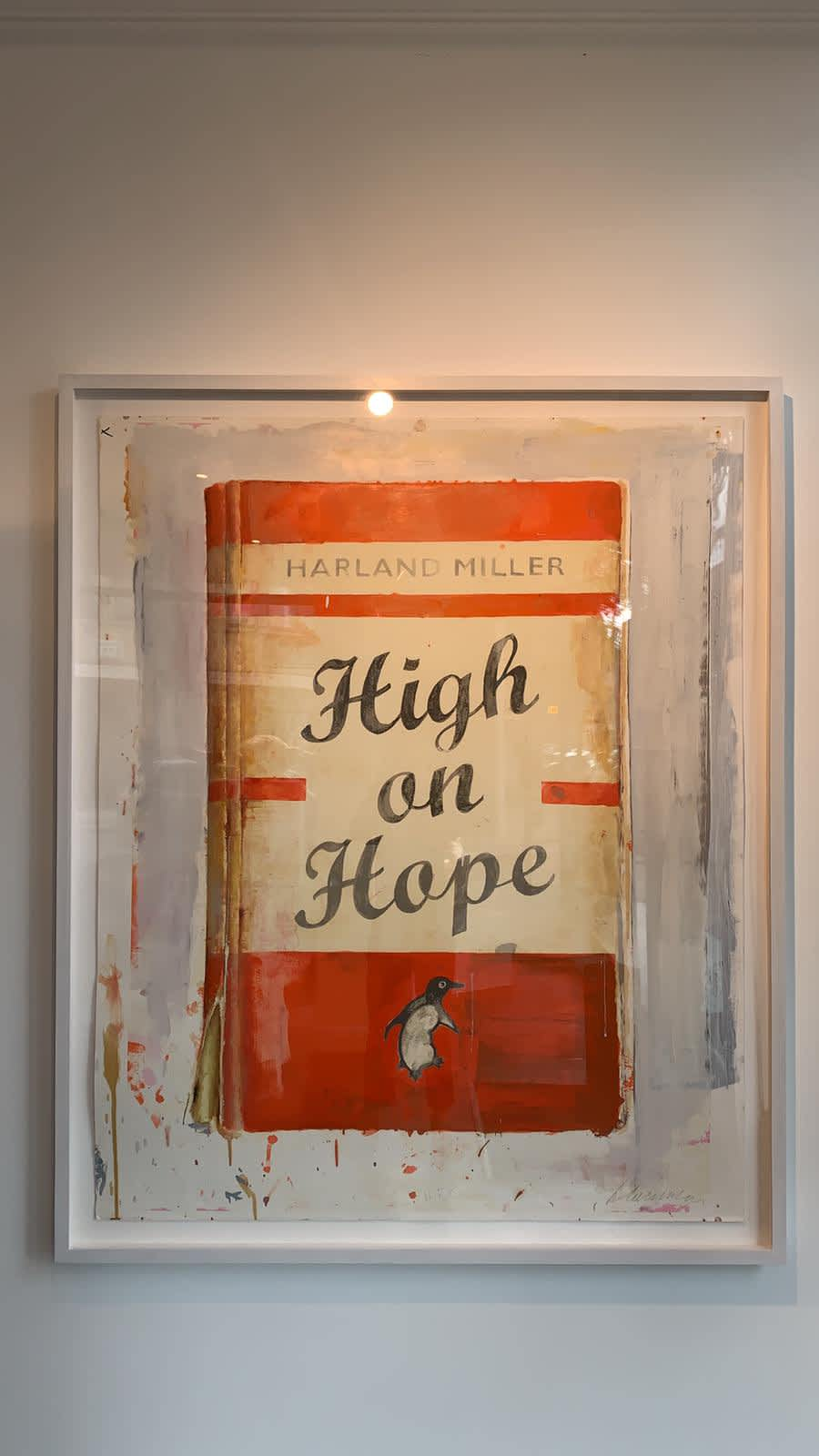 Harland Miller, High on Hope, 2019