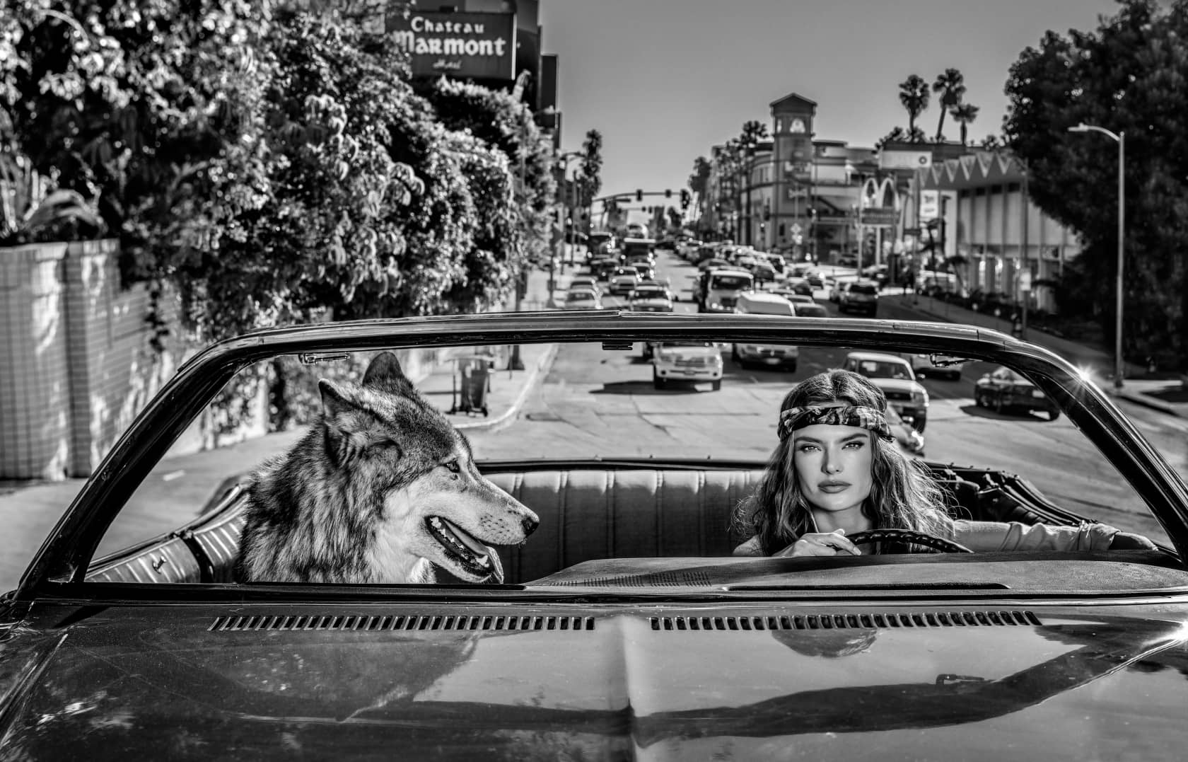 David Yarrow Chateau Marmont Archival Pigment Print