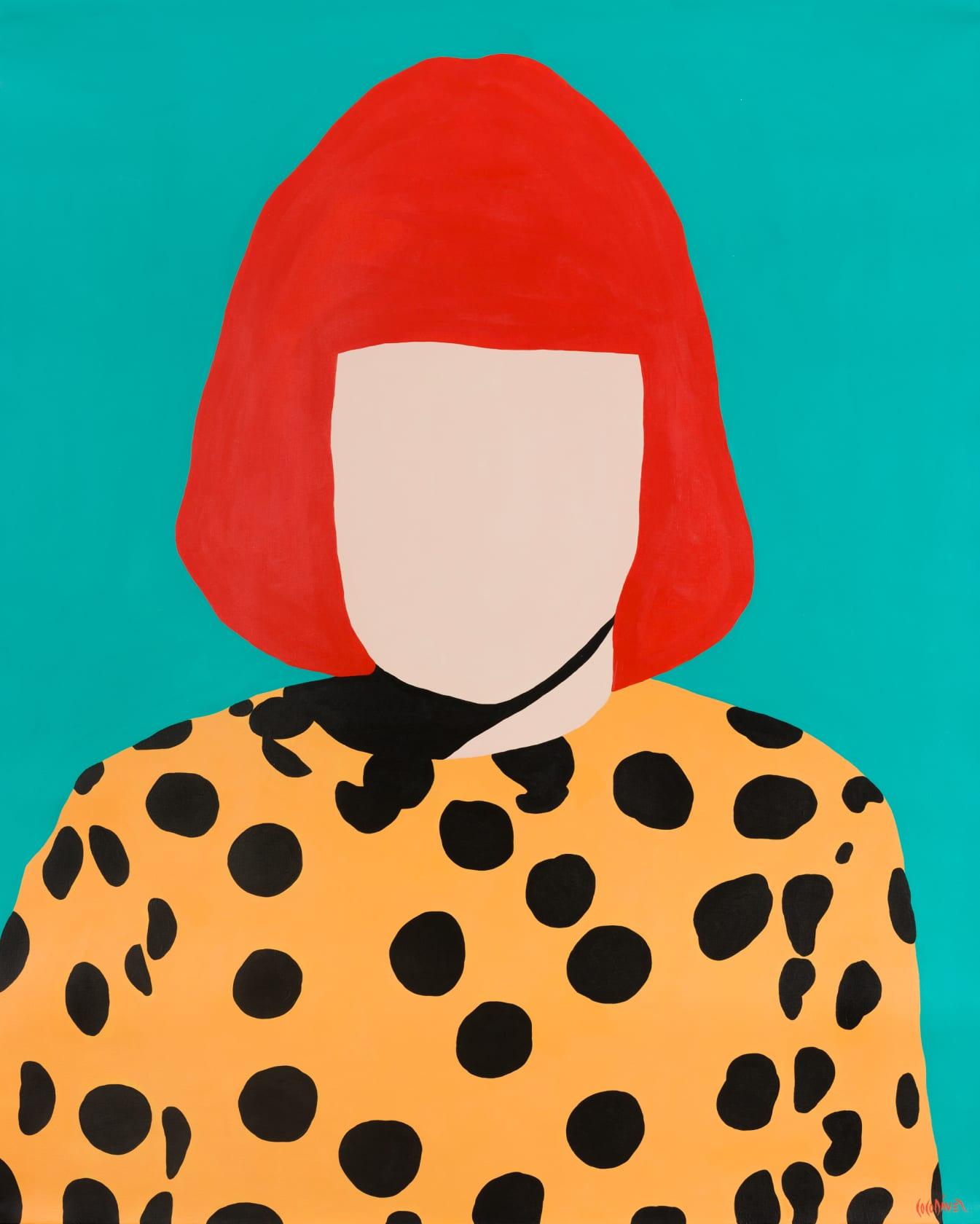 Coco Dávez Yayoi Acrylic on Canvas