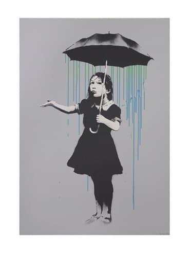 Banksy, Nola (Green to Blue AP), 2008