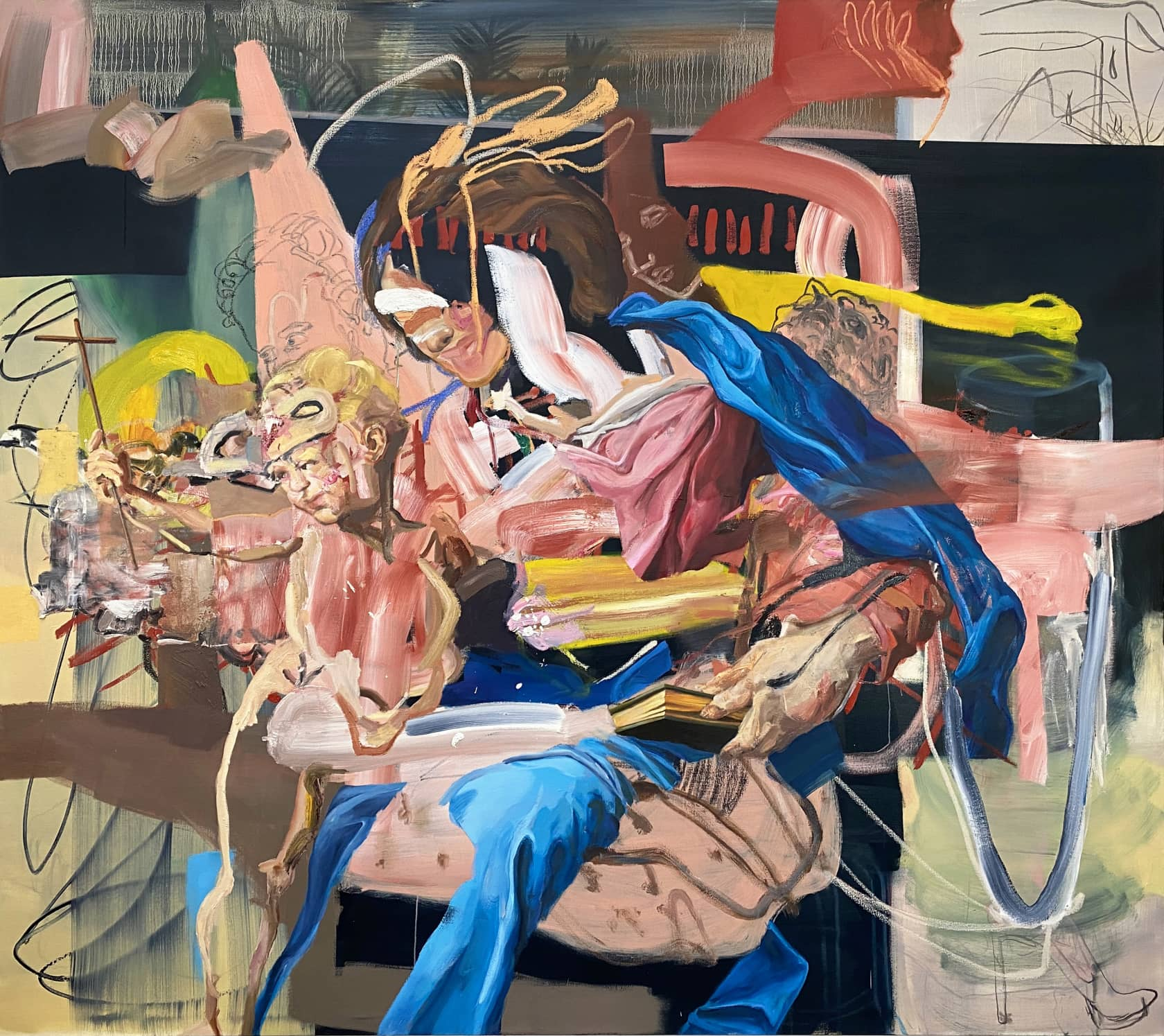 Wyatt Mills Vague Traditions Oil on canvas