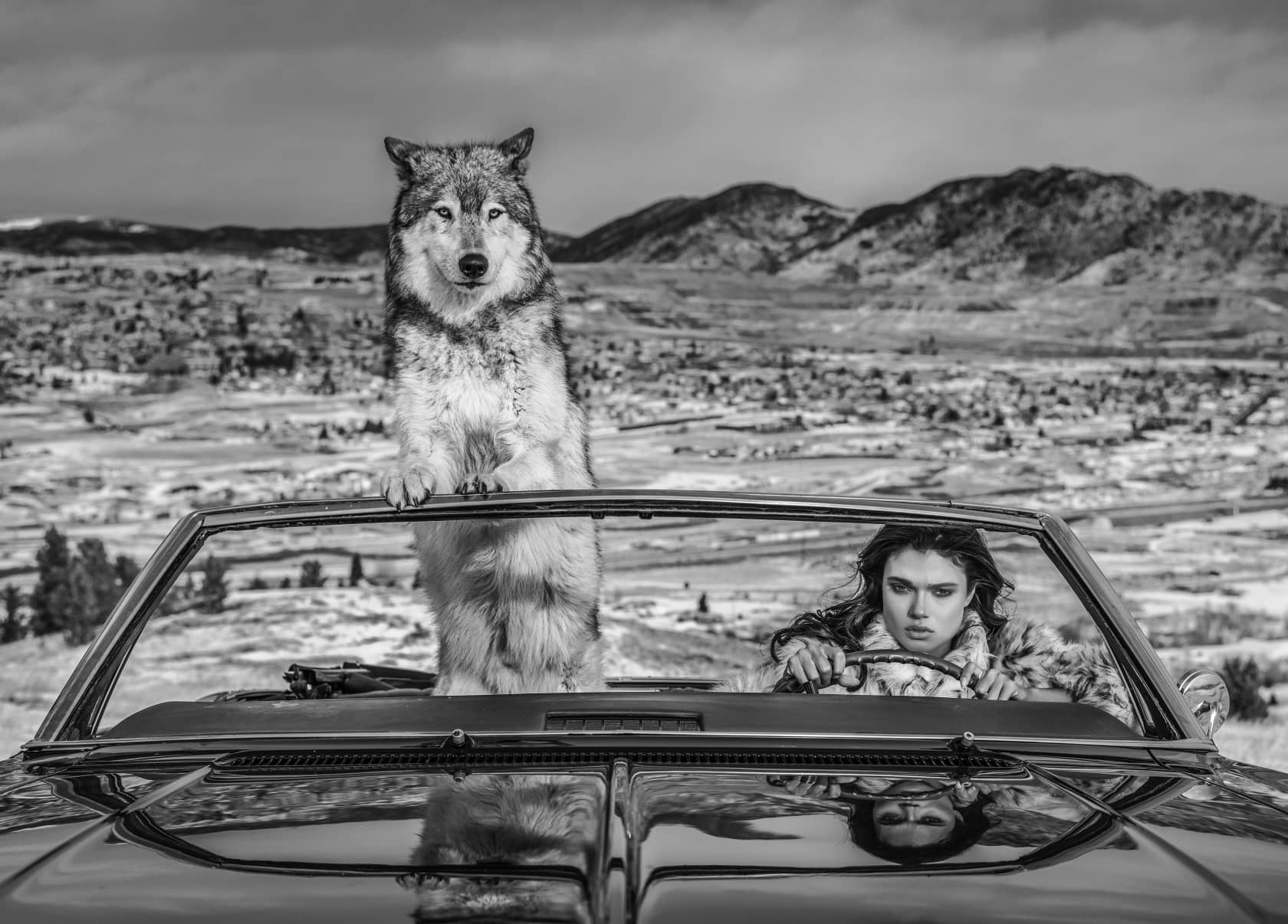 David Yarrow, The Richest Hill In The World, 2020