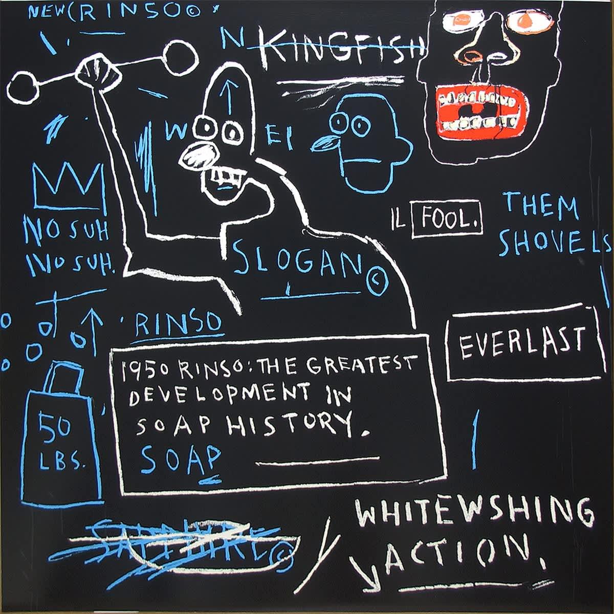 Jean-Michel Basquiat, Rinso, 1983/2001