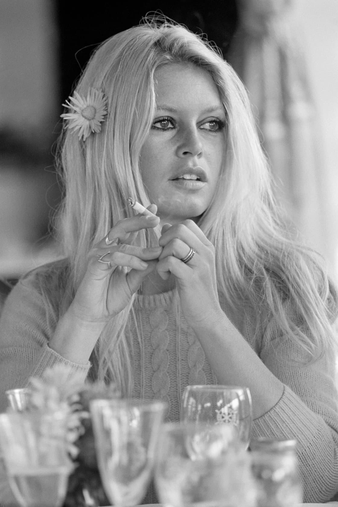 Terry O'Neill Brigitte Bardot, Deauville Lifetime Gelatin Silver Print