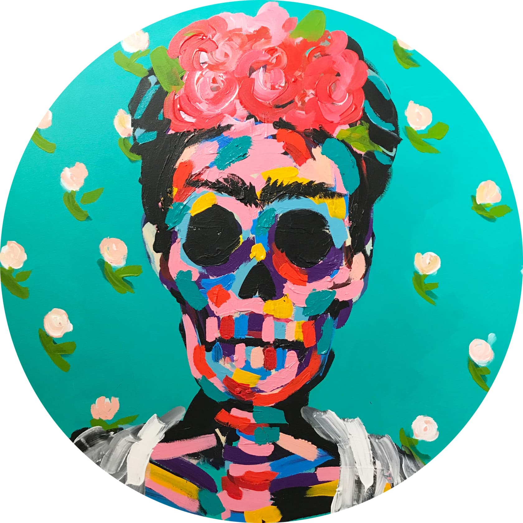 Bradley Theodore, Frida in Flowers, 2017