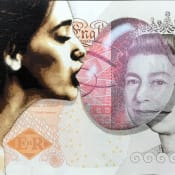 Penny stencil