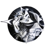 Crystal Wagner cut paper sculpture