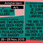 Amsterdam Art Weekend 2015
