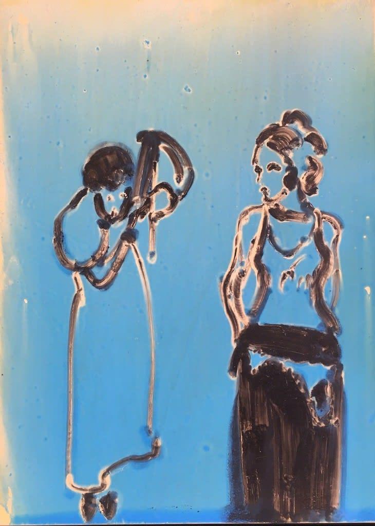 Ilona Szalay, Blue 3