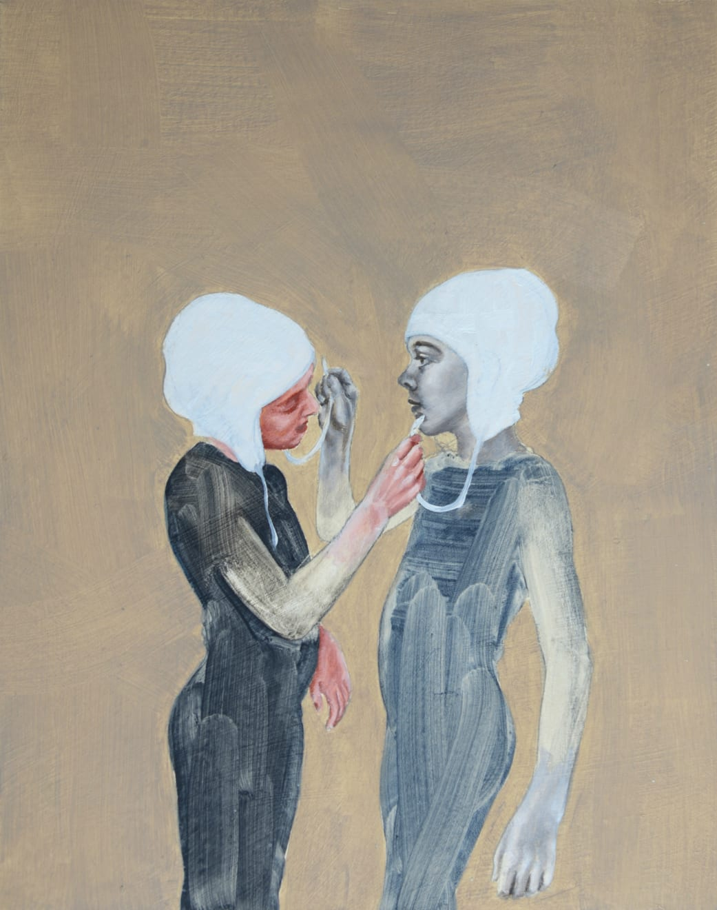 Pippa Young, Study for: Self-construction, 2015