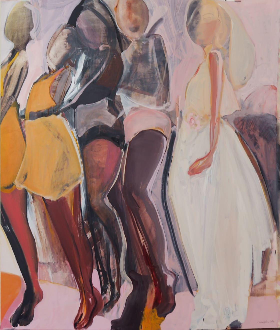 Elaine Speirs, White Goddess, 2016