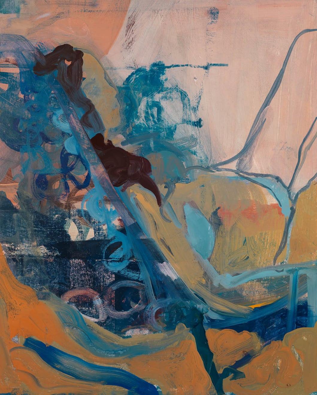 Elaine Speirs, Blue Deck Chair, 2017