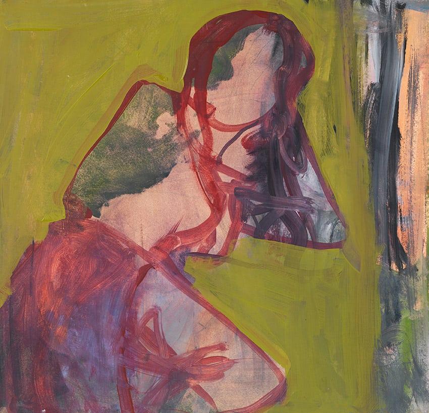 Elaine Speirs, Green, 2017