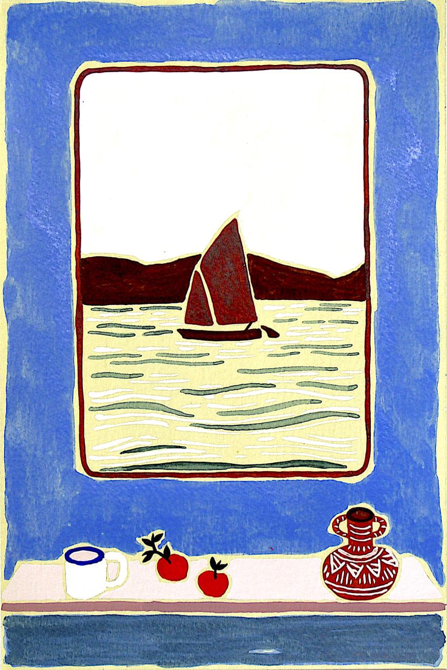 Freya Douglas-Morris, Exercise Three (The Fisherman's Cottage), 2020