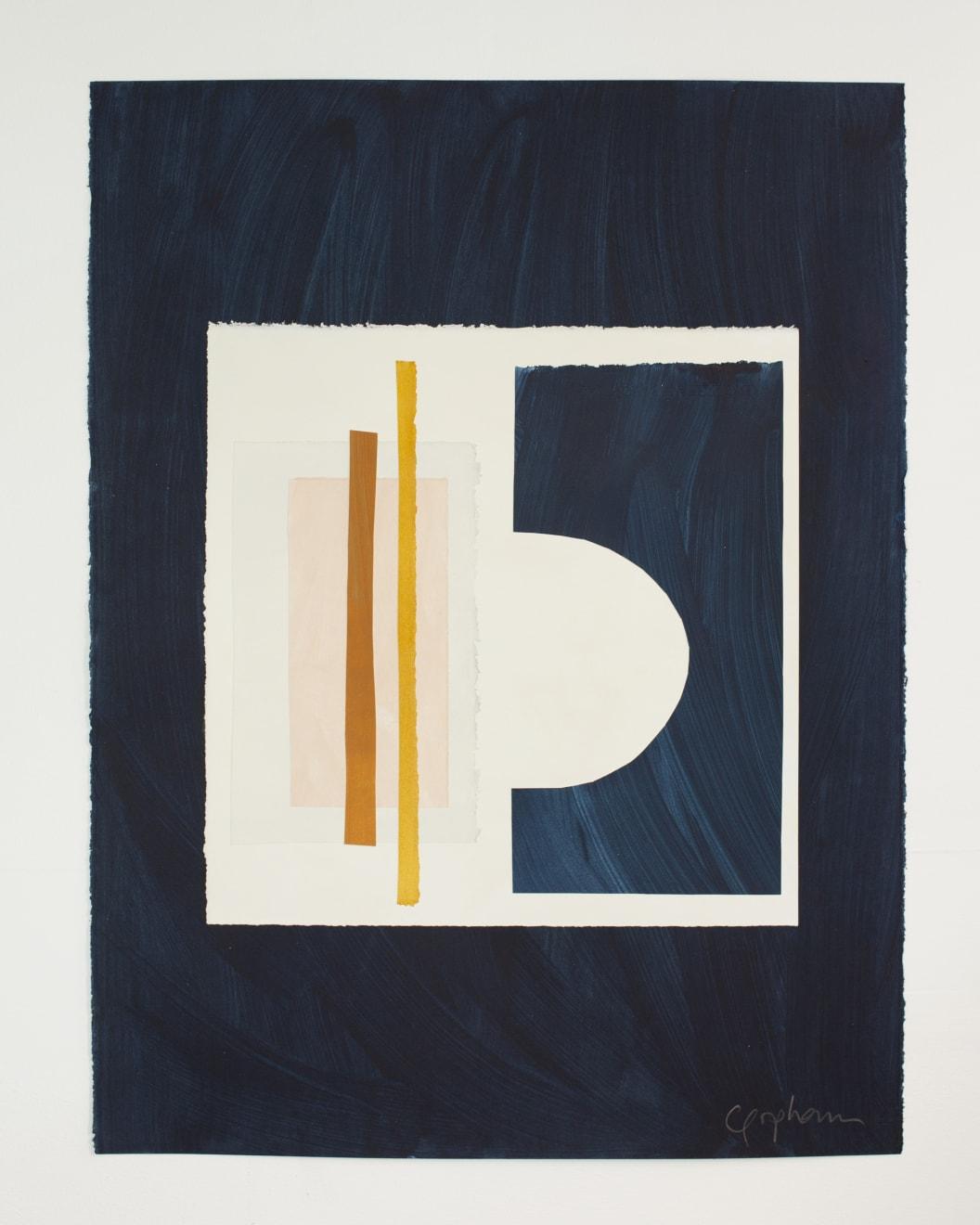 Caroline Popham, Sky Arcs & Lines, 2020