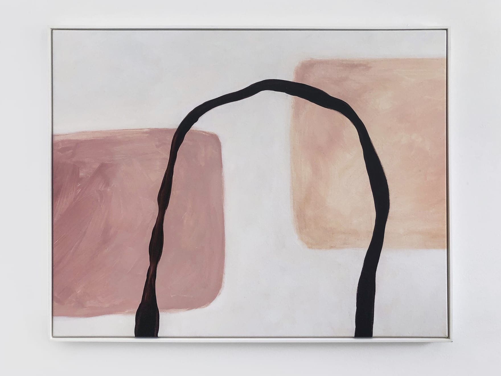 Caroline Popham, Give space to the air between, 2019