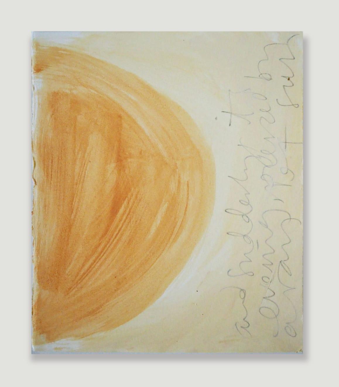 Caroline Popham, Sun Sketch , 2020