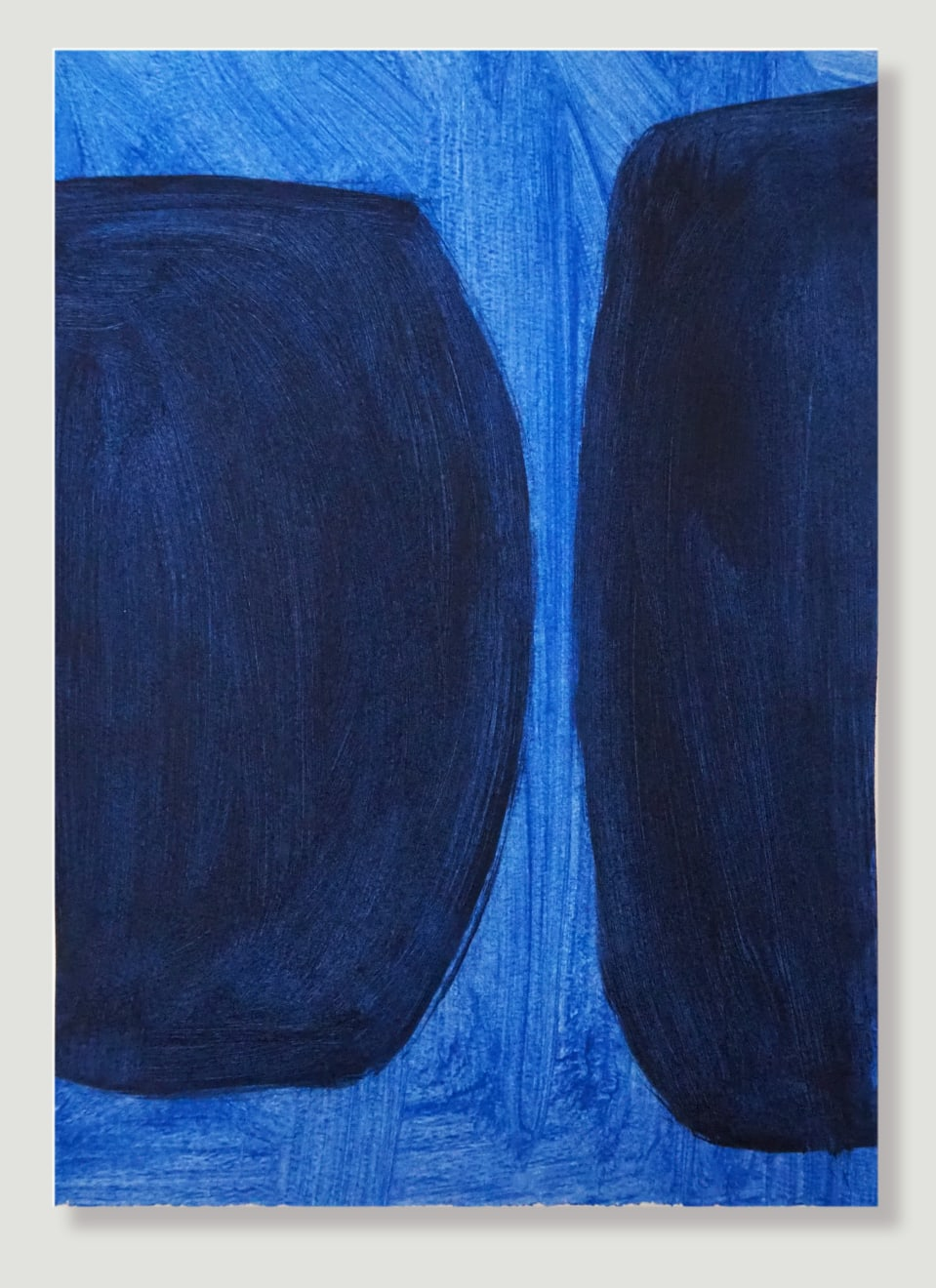 Caroline Popham, Blue Forms , 2020