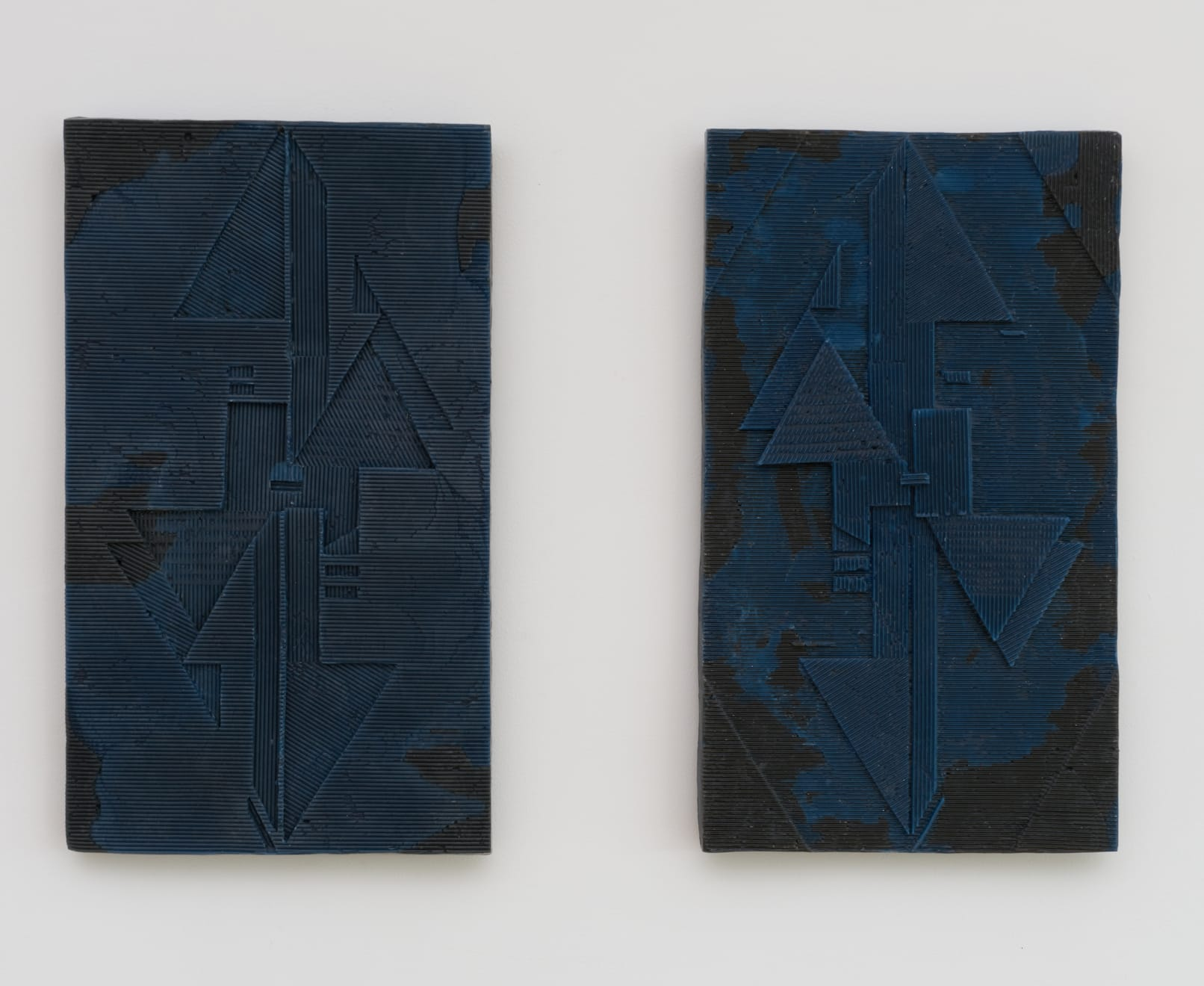 Anna Hughes, Lock Picker I and II, 2018