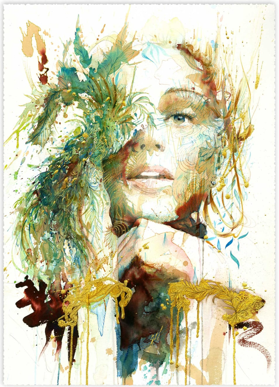 Carne Griffiths, The Present, 2020