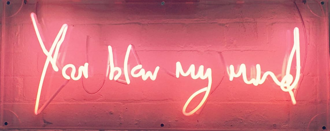 Lauren Baker, You Blow My Mind, 2015