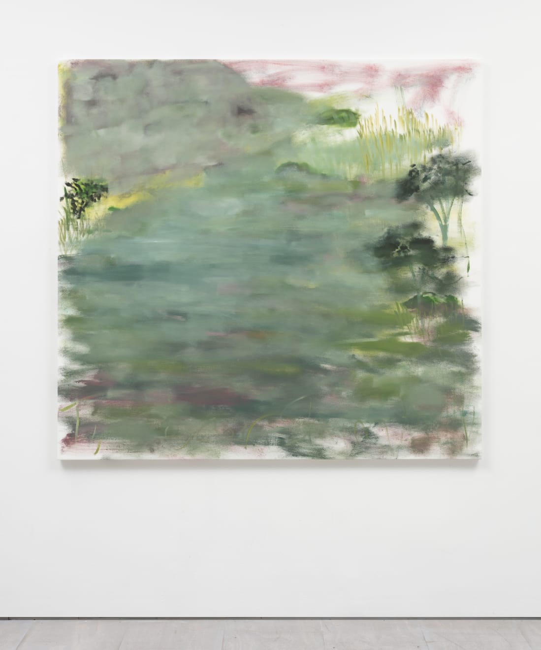Trevor Shimizu, Water Surrounded by Cliffs and Trees, 2020