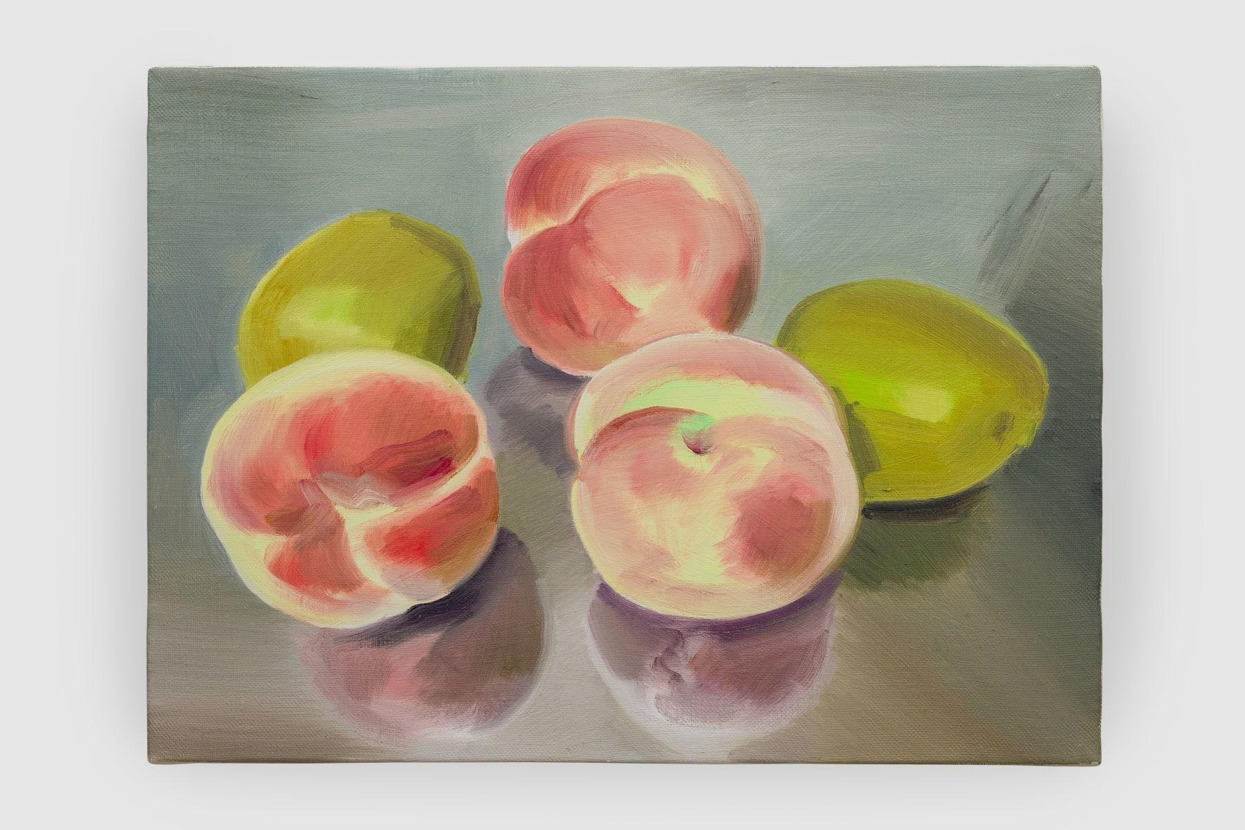 Ulala Imai, Fruits (Peaches and Kiwis), 2021