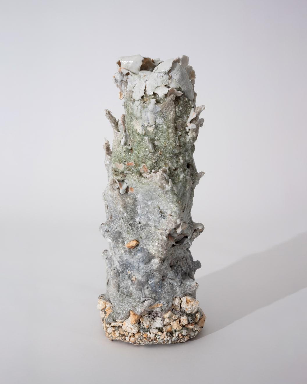 Masaomi Yasunaga, 樹の抜け殻 / bark of a tree, 2019