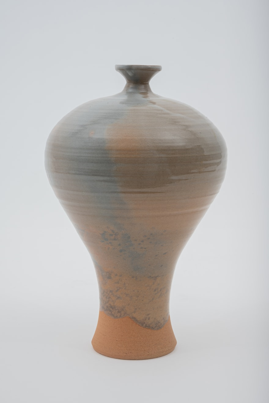 Hosai Matsubayashi XVI, Beni Kase Vase / 花入 紅鹿背, 2020