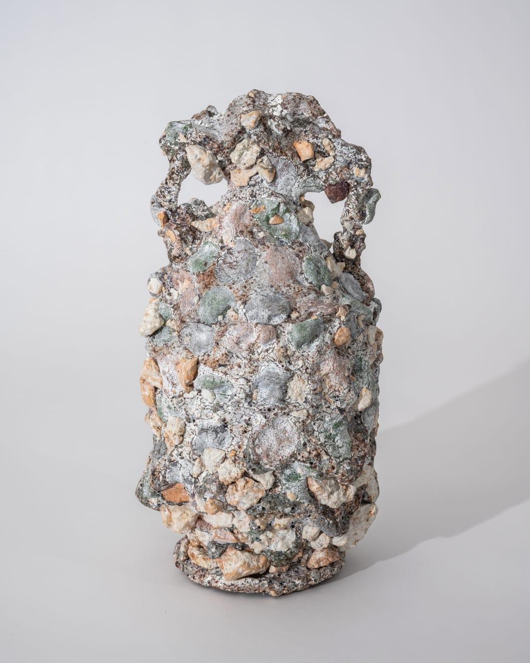 Masaomi Yasunaga, 熔ける器 / melting vessel, 2020