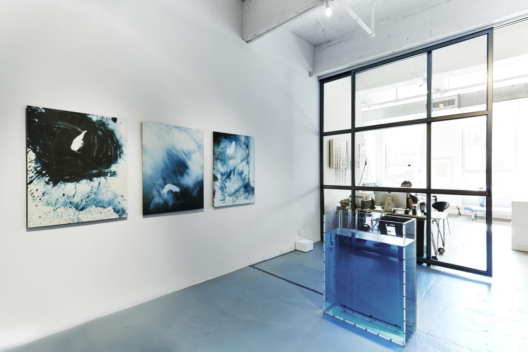 Kunié Sugiura, Water tank, with choice of 2 prints from Namu series, 1992